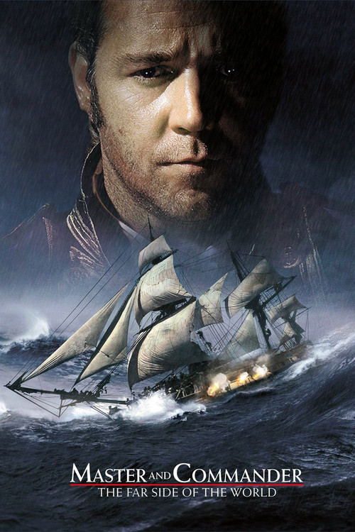 "Poster for the movie ""Master and Commander: The Far Side of the World"""