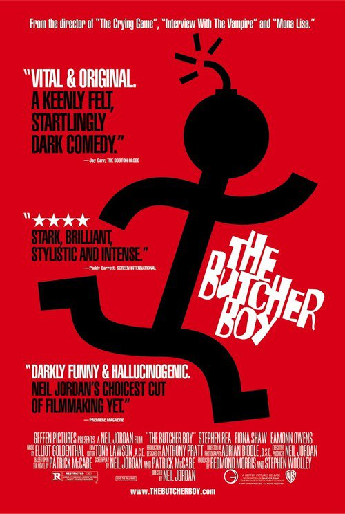 "Poster for the movie ""The Butcher Boy"""
