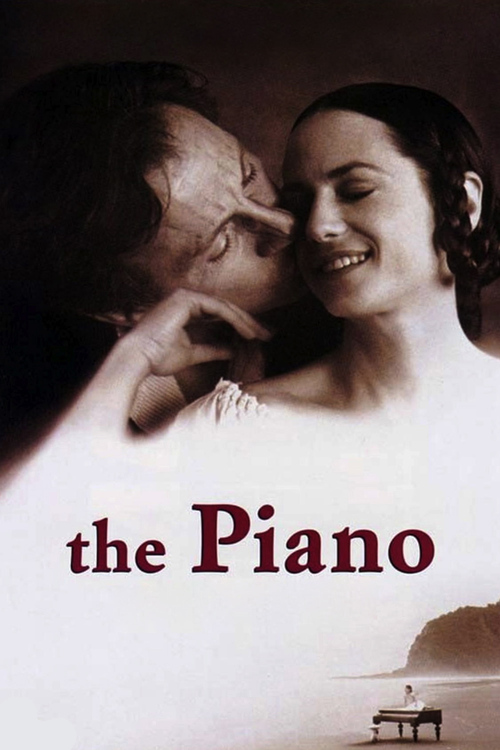 """Poster for the movie """"The Piano"""""""