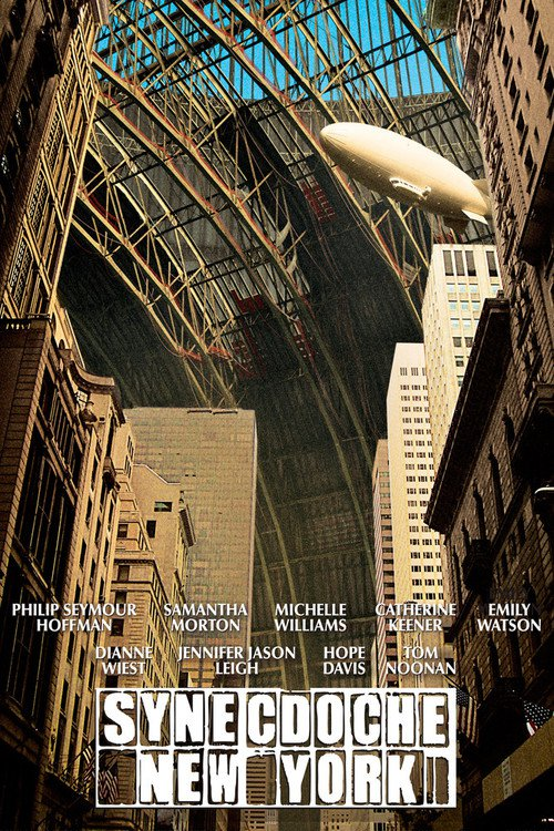 "Poster for the movie ""Synecdoche, New York"""