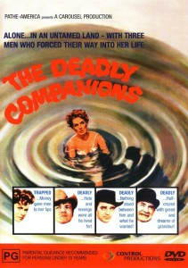 "Poster for the movie ""The Deadly Companions"""