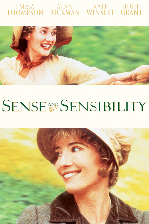 "Poster for the movie ""Sense and Sensibility"""