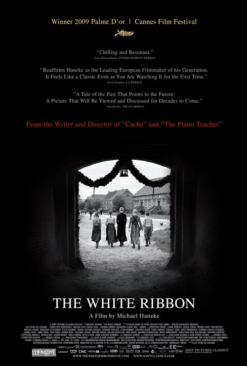 "Poster for the movie ""The White Ribbon"""