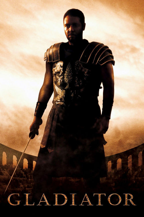 "Poster for the movie ""Gladiator"""