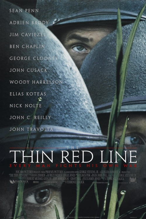 """Poster for the movie """"The Thin Red Line"""""""