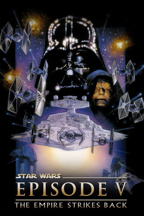 """Poster for the movie """"Star Wars: Episode V - The Empire Strikes Back"""""""