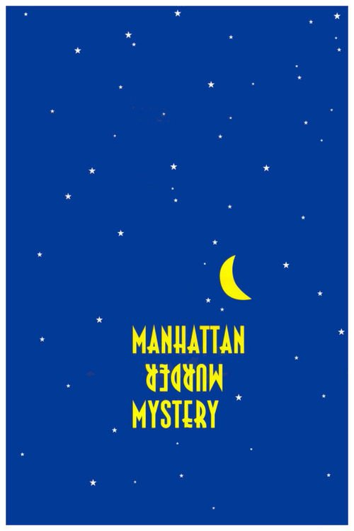 "Poster for the movie ""Manhattan Murder Mystery"""