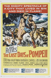 "Poster for the movie ""The Last Days of Pompeii"""