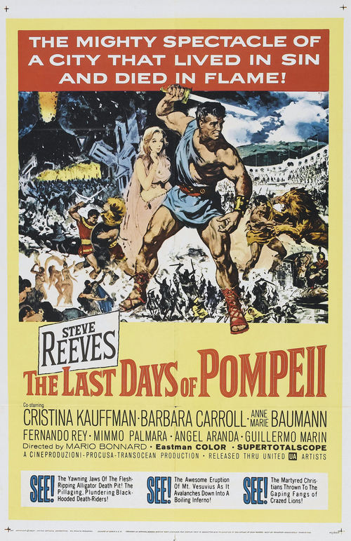 """Poster for the movie """"The Last Days of Pompeii"""""""