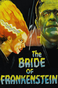 "Poster for the movie ""The Bride of Frankenstein"""