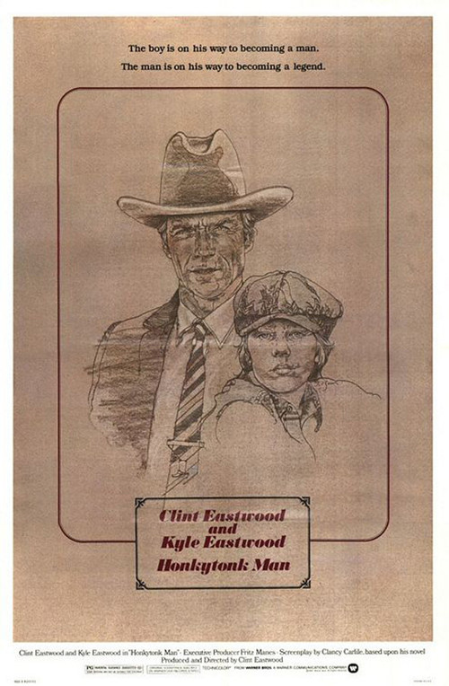 """Poster for the movie """"Honkytonk Man"""""""