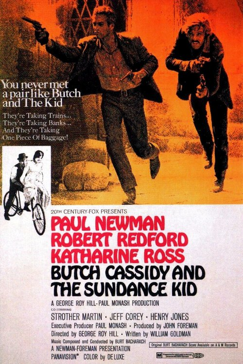 "Poster for the movie ""Butch Cassidy and the Sundance Kid"""