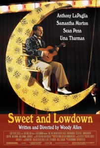 "Poster for the movie ""Sweet and Lowdown"""