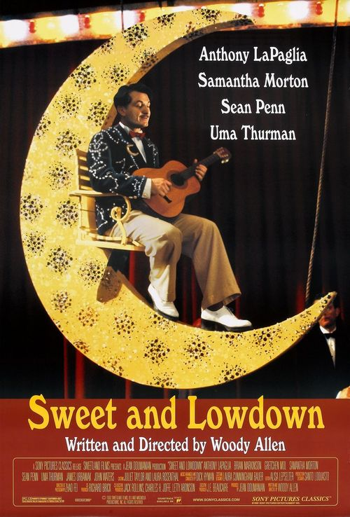 """Poster for the movie """"Sweet and Lowdown"""""""