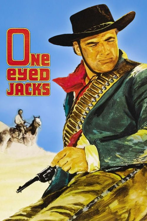 """Poster for the movie """"One-Eyed Jacks"""""""