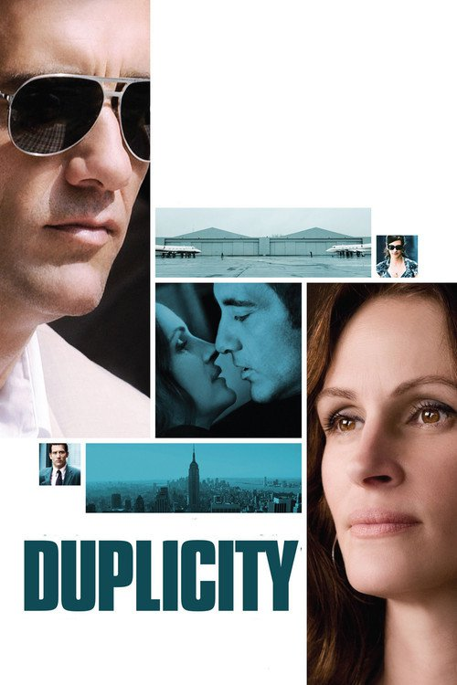 """Poster for the movie """"Duplicity"""""""