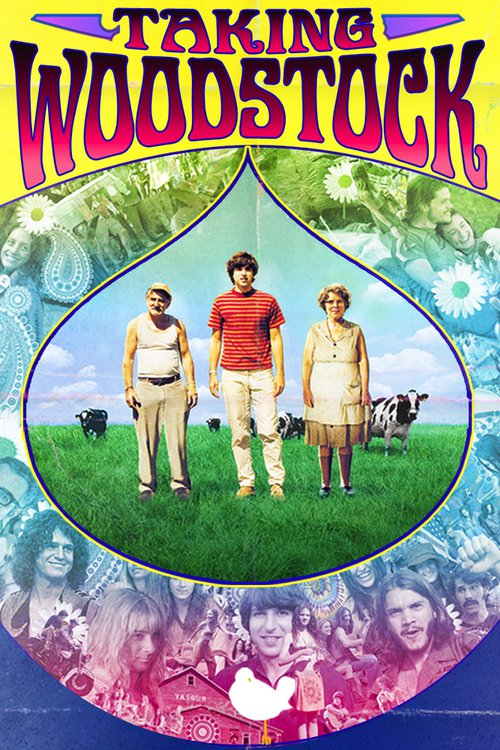 """Poster for the movie """"Taking Woodstock"""""""