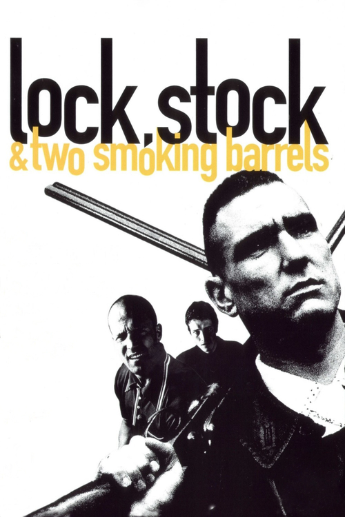 "Poster for the movie ""Lock, Stock and Two Smoking Barrels"""