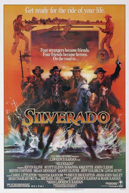 "Poster for the movie ""Silverado"""