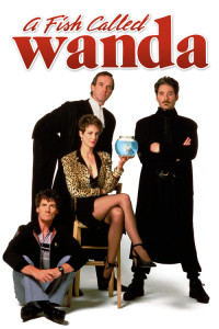 "Poster for the movie ""A Fish Called Wanda"""