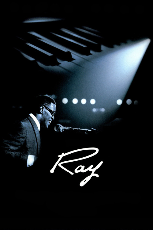 """Poster for the movie """"Ray"""""""