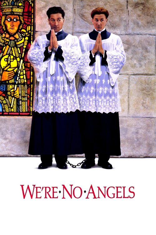 """Poster for the movie """"We're No Angels"""""""