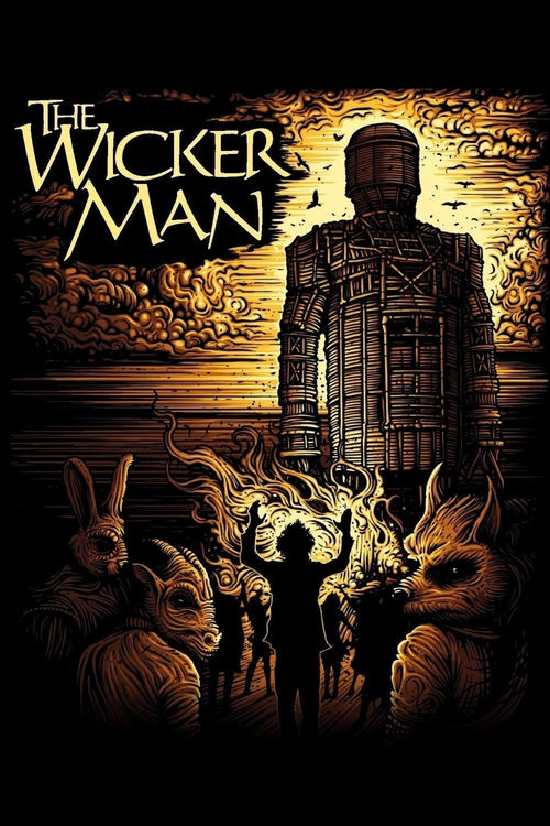"Poster for the movie ""The Wicker Man"""