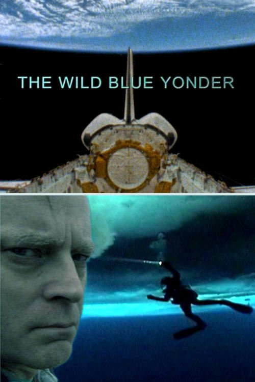 "Poster for the movie ""The Wild Blue Yonder"""