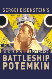 "Poster for the movie ""Battleship Potemkin"""