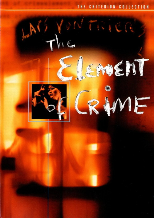 """Poster for the movie """"The Element of Crime"""""""