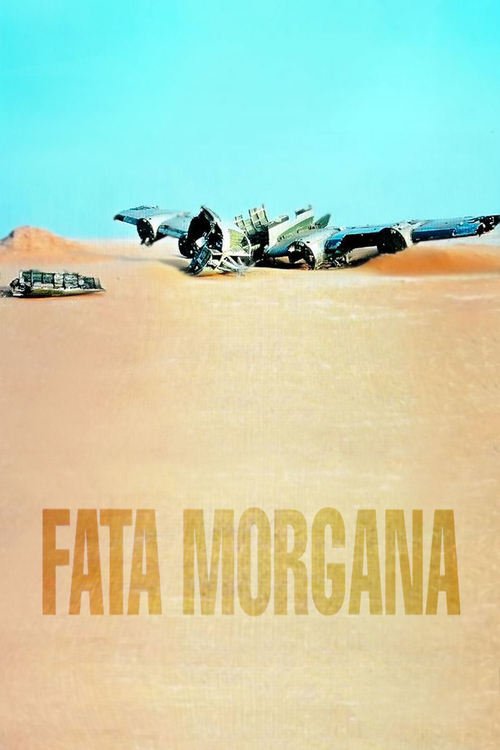 "Poster for the movie ""Fata Morgana"""