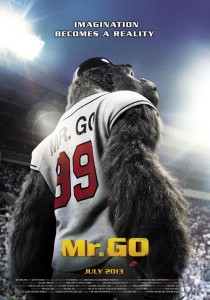"""Poster for the movie """"Mr. Go"""""""