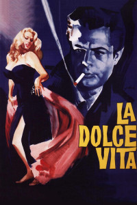 "Poster for the movie ""La dolce vita"""