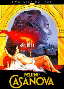 "Poster for the movie ""Fellini's Casanova"""