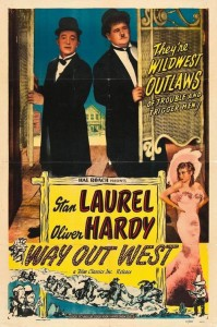 "Poster for the movie ""Way Out West"""