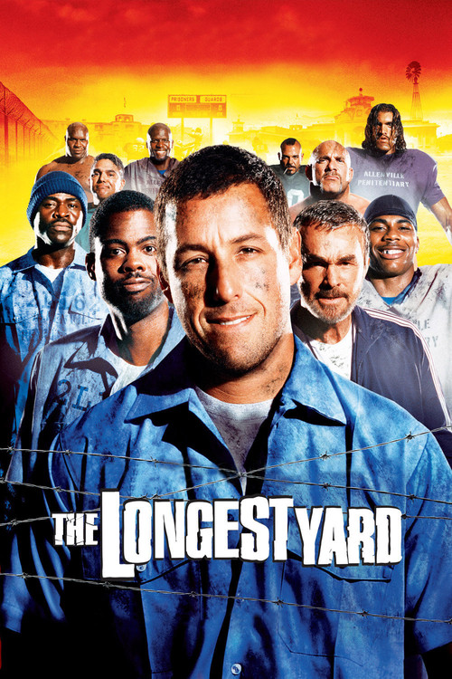 """Poster for the movie """"The Longest Yard"""""""