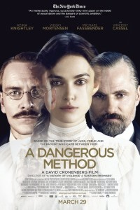 "Poster for the movie ""A Dangerous Method"""