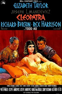 "Poster for the movie ""Cleopatra"""
