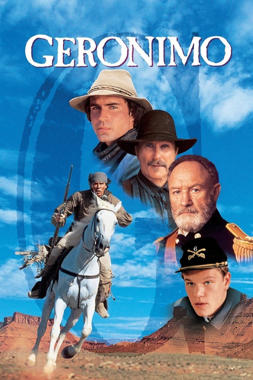 "Poster for the movie ""Geronimo: An American Legend"""