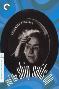"Poster for the movie ""And the Ship Sails On"""