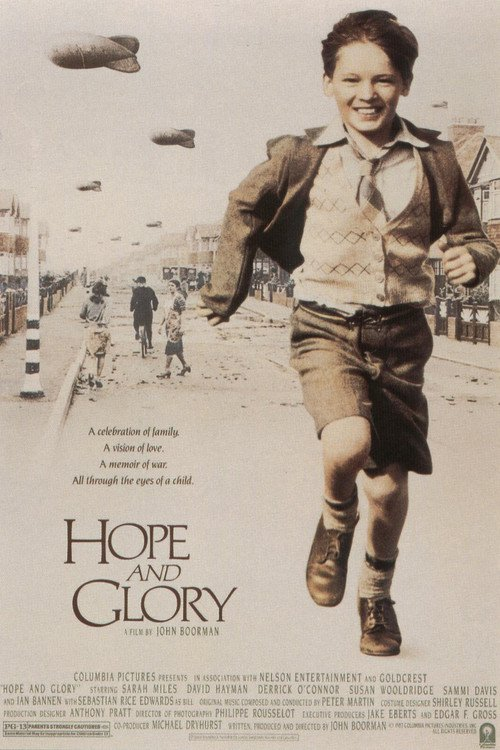 "Poster for the movie ""Hope and Glory"""