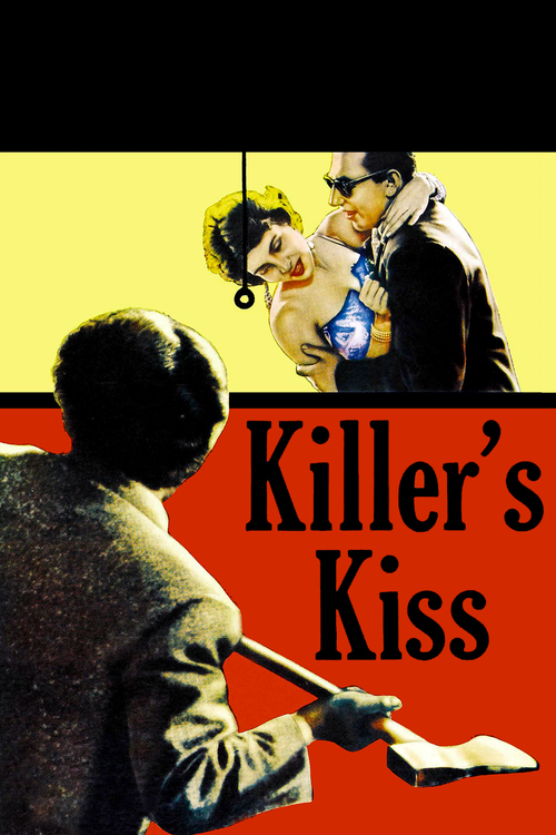 """Poster for the movie """"Killer's Kiss"""""""