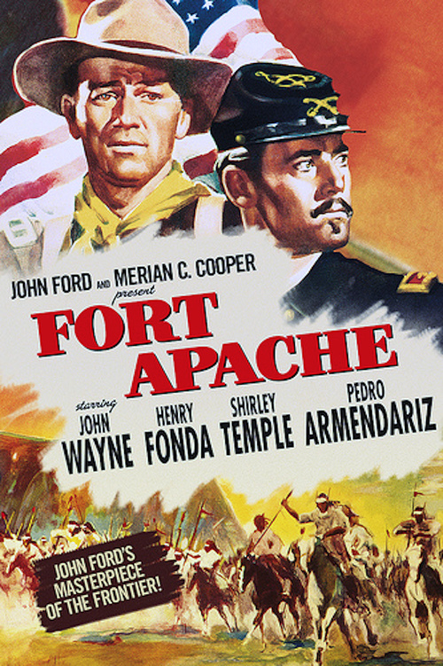 """Poster for the movie """"Fort Apache"""""""