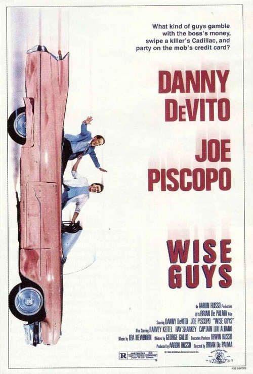 "Poster for the movie ""Wise Guys"""