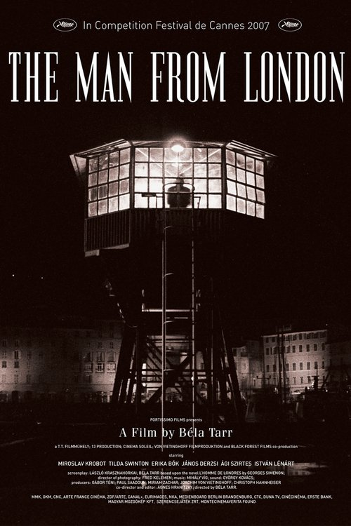 """Poster for the movie """"The Man from London"""""""