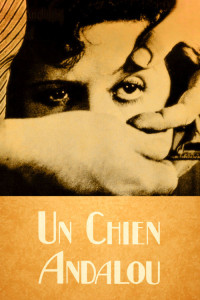 "Poster for the movie ""Un Chien Andalou"""