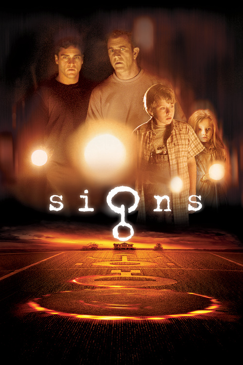 """Poster for the movie """"Signs"""""""