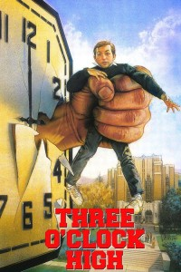 "Poster for the movie ""Three O'Clock High"""