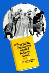 "Poster for the movie ""Everything You Always Wanted to Know About Sex* (*But Were Afraid to Ask)"""
