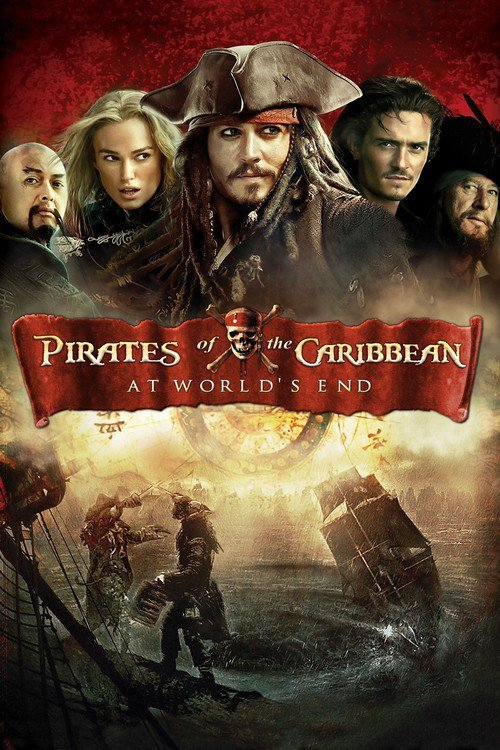 """Poster for the movie """"Pirates of the Caribbean: At World's End"""""""